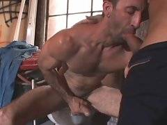 blowjob Hairy mature gay